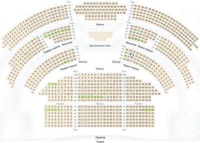 Билета на открытие большого театра