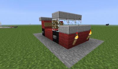 Как сделать машинку в майнкрафт 586