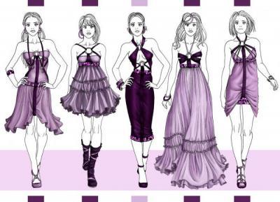 c567ada22c5 Как рисовать одежду. Несколько полезных советов начинающим модельерам