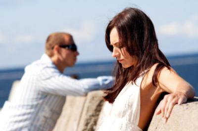 Жена не реагирует на мужа