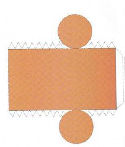 Цилиндр из картона своими руками схема фото 582