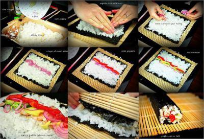 Как сделать суши дома пошагово фото фото 191
