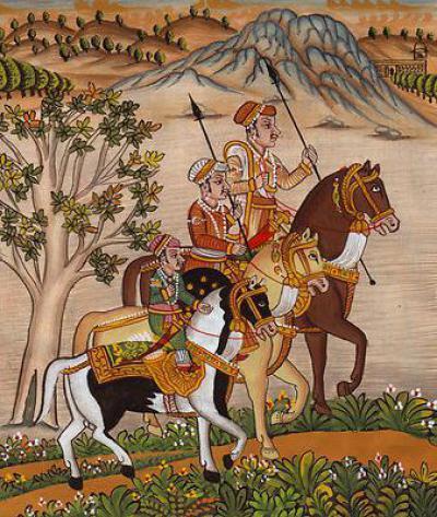 Империя велики моголов, великие моголы в индии