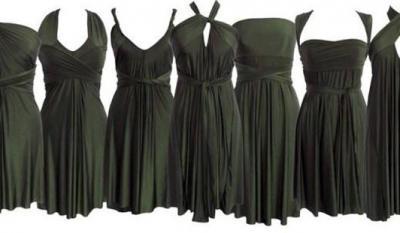 6d2be591b3e Платье-трансформер  как завязать  Как носить платье-трансформер