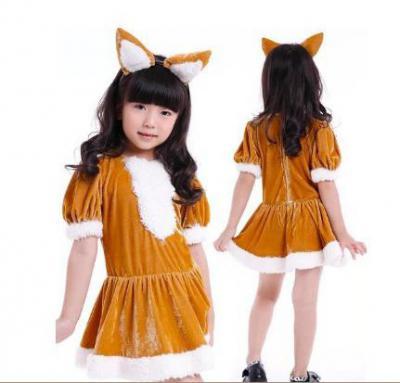 Костюм лисы для девочки своими руками выкройка фото 217