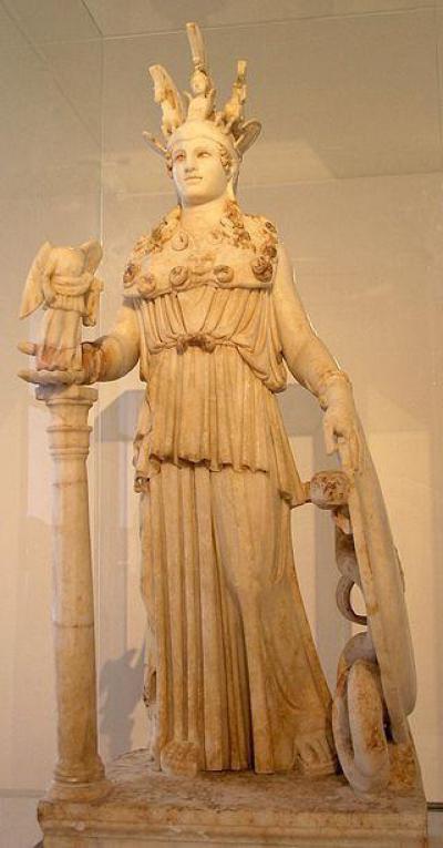 Древнегреческая римская скульптура в му