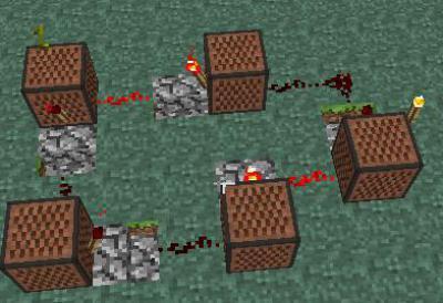 Minecraft как сделать нотный блок фото 267