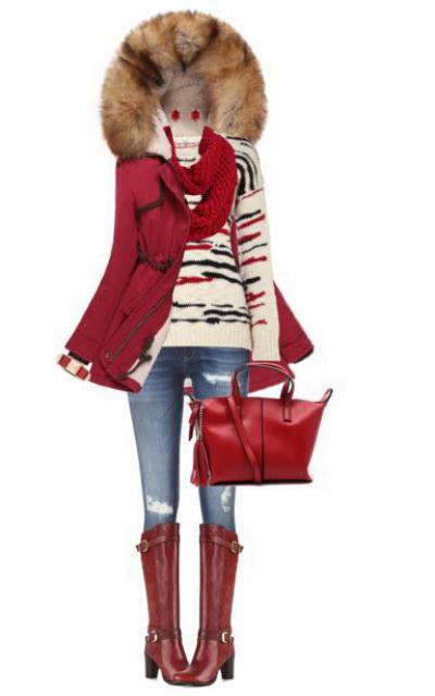 3264aabe76bb Красная сумка: с чем носить ее лучше всего?