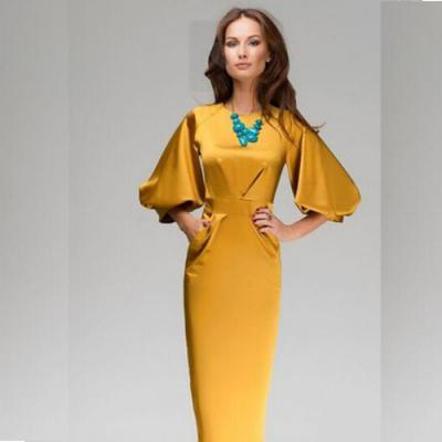 373edd49627 Выкройка платья с цельнокроеным рукавом (фото)