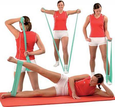 Упражнения с резинкой для бедер и ягодиц женщинам - 3