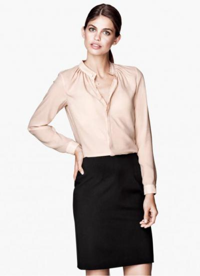 7dde1b2b4dd блузка офисная. Наилучшими элементами гардероба ...