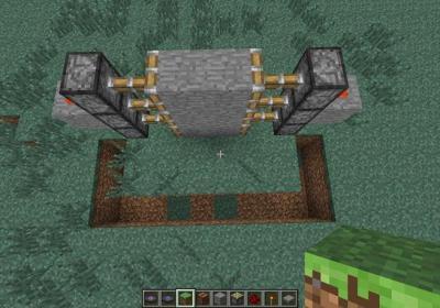 Как сделать в minecraft дверь 751