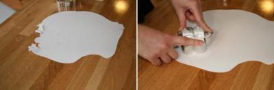украшение торта своими руками в домашних условиях сливками