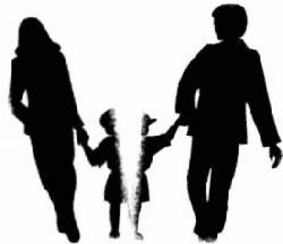 деление детей при разводе