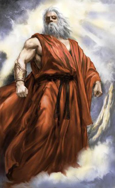 Древнегреческий бог неба и людей