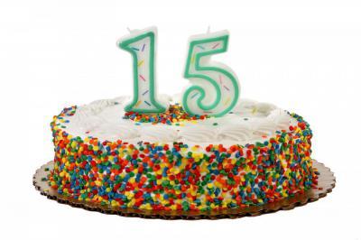 15 лет