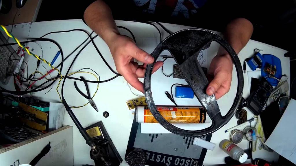 Подводный металлоискатель своими руками: описание, инструменты, сборка