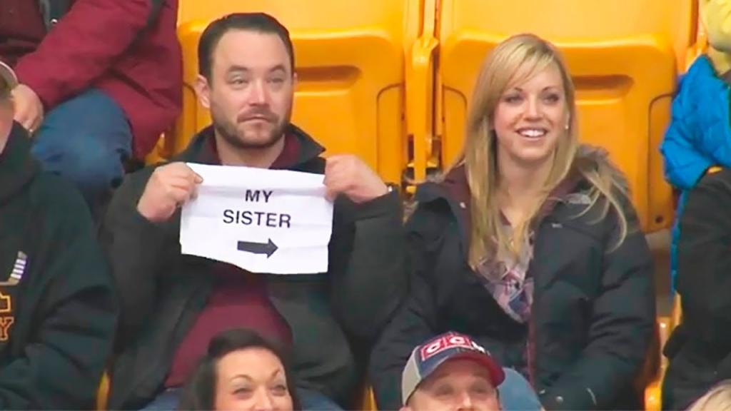 Kiss cam или love camera: что происходит, когда камера захватывает пару, сидящую на стадионе (забавное видео)