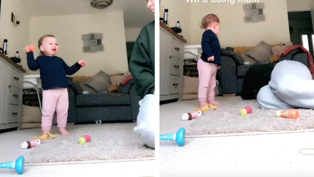 Эта девушка смогла остановить истерику маленького ребенка за 10 секунд: видео