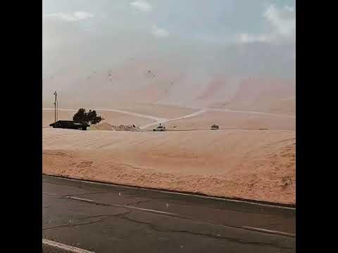 Испанию засыпало песком из Сахары: видео