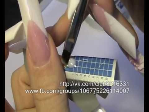 Нарощенные ногти: виды, фото и названия, материалы, технология, отзывы